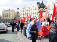 manifestación pro sahara marroquí
