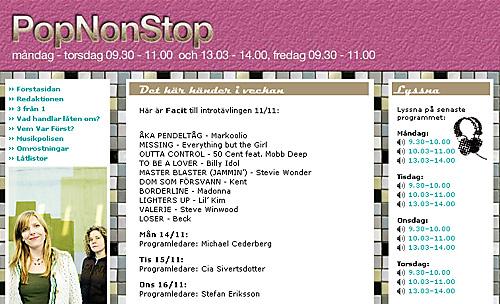 P3:s Pop Non Stop