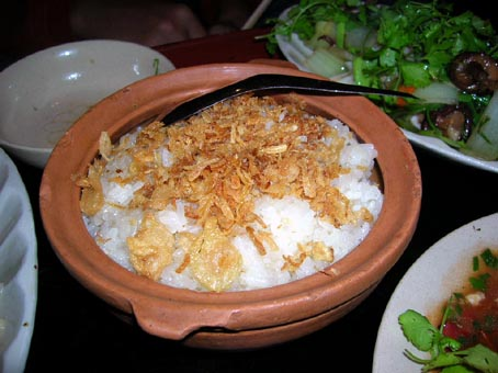 Mountainous sticky rice