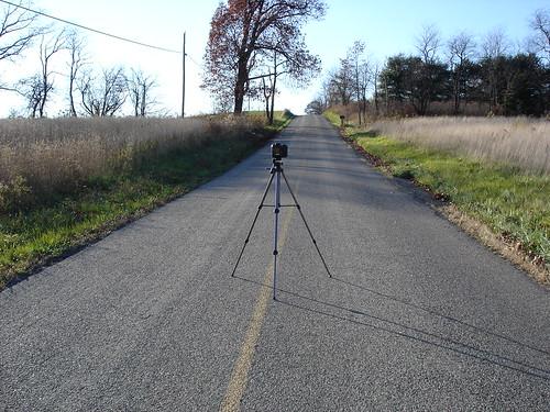 Camera in Road