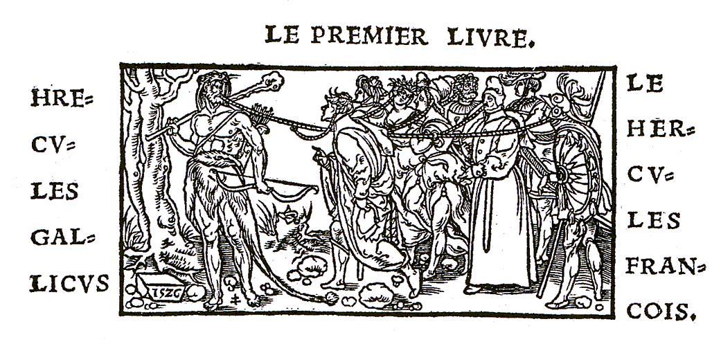 Geofroy Troy, Hercules Gallicus Champ Fleury 1529