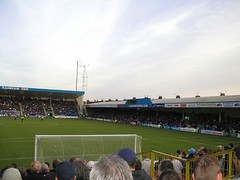 The town where I live now ~ Gillingham, actually this is Priestfield ... I live down the road!