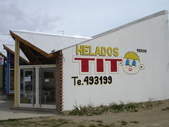 Helados (Ice Cream) TIT in Calafate,  Argentina