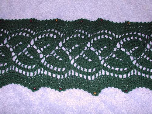 Daylily scarf