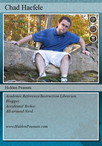 Librarian Trading Card