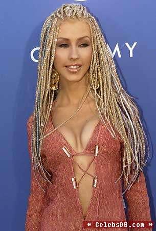 Cristina Aguilera en tanga