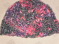 chunky Colinette hat