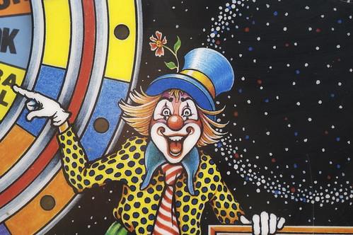 Cyclone Backglass Clown