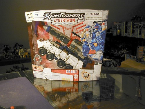 November 28, 2005 - Cybertron Defense Red Alert