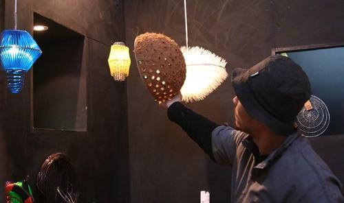 椰纖殼燈罩