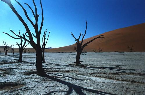 Sossus Vlei, Namibian<br>desert