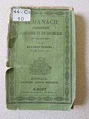 Bordeaux Almanach 1847