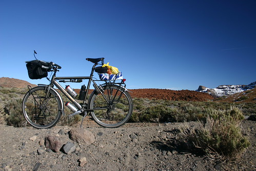 The Koga in Parque Nacional del Teide