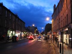 Stockbridge in Edinburgh at Dusk (1)
