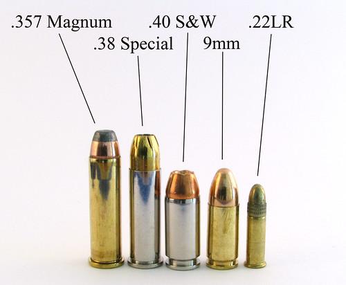 various handgun ammo w