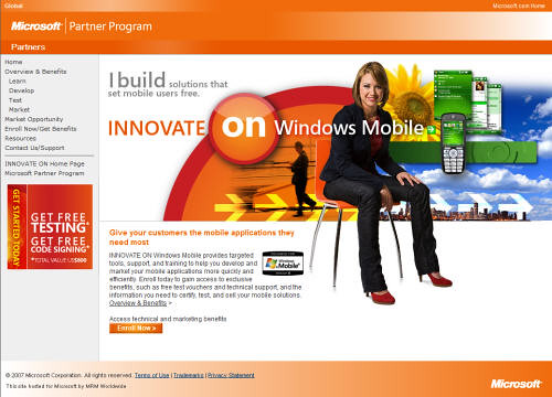 Innovate on Windows Mobile