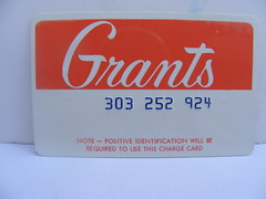 Grant's Credit Card! photo by slade1955
