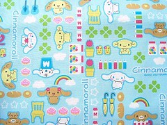 Cute Japanese Cotton Fabric-Cinnamoroll-Cute Puppy Half Yard photo by kawaii_fabric_and_paper