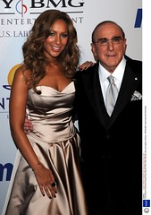 Leona Lewis and Clive Davis photo by surrey13