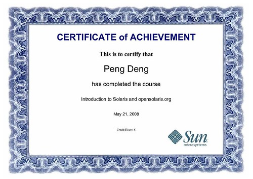 IntroductionToSolarisCertificate