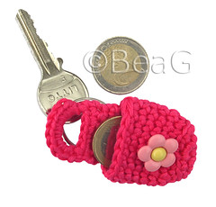 Keychain Coin Holder (Munthoudertje) photo by Made by BeaG