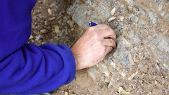 5b. Scraping mineral deposits Photo