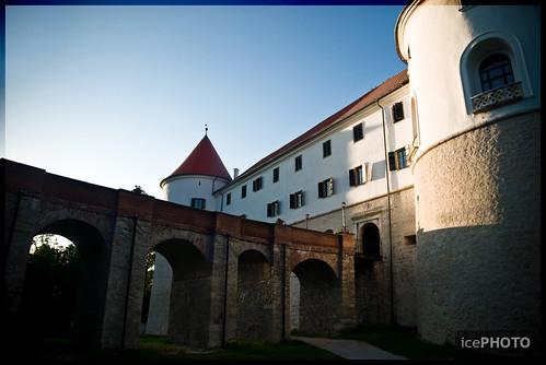 Castle Mokrice near Brežice, Slovenia