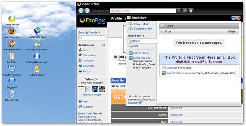 FanBox Web Desktop