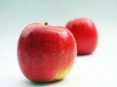 Two Juicy Red Apples photo by MyDigitalSLR