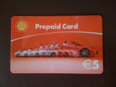 Shell Prepaid Karte