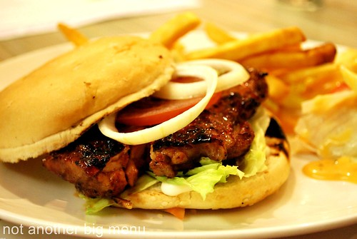 Boneless grilled chicken sandwich RM16.90