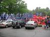 Campaign Supporter Area Outside Sullivan Arena