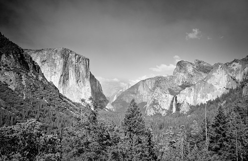 Yosemite Valley from Tunnel View