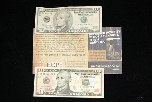10 dollars - never ending hope