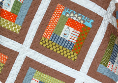 Fishy Baby Quilt Front photo by joomoolynn