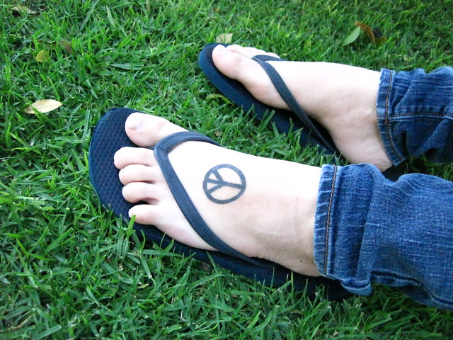 peace tattoo | Flickr - Photo Sharing!