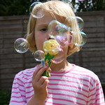 Blowing bubbles<br/>23 May 2009