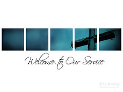 Christian Backgrounds Wallpaper - Welcome to Our Service 2 photo by crossmap backgrounds