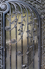 The wrought iron door photo by jmvnoos in Paris