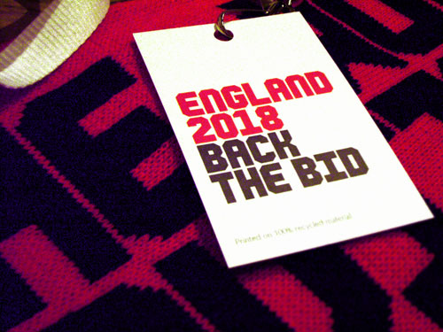 England United I was Invited