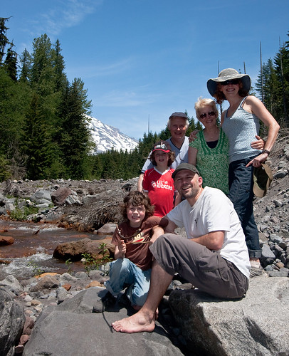 Family on the Creek
