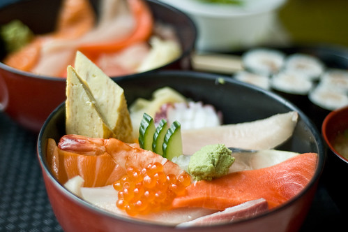 Chirashi at Matoi Sushi
