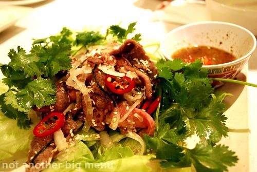 Tay Do - beef salad (Bo Tai Chanh) £7