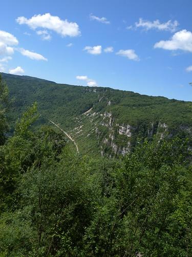 View of Col de Portes Climb