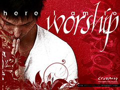 Christian Backgrounds Wallpaper - Here I Am to Worship 5 photo by crossmap backgrounds