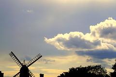 Windmill Silhouette photo by mattwareherts