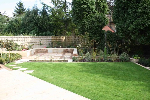 Portfolio yorkshire garden designs frances hainsworth for New build garden designs