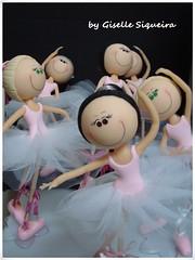 bailarina photo by Gisarteira Artesanato em biscuit