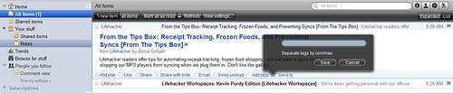 Google Reader : Snow Leopard Skin