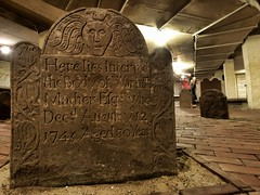The Center Church Crypt, New Haven, CT photo by Edwaste
